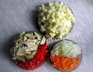 солянка овощная рецепт