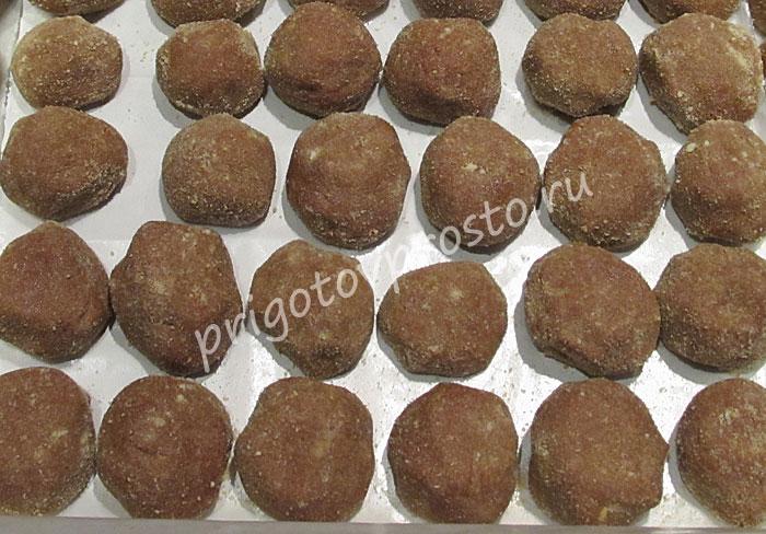 Пирожное «Картошка» со сгущенкой