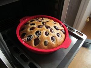 пирог на основе йогурта