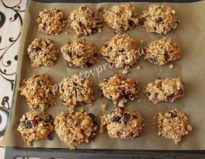 домашнее печенье из овсяных хлопьев