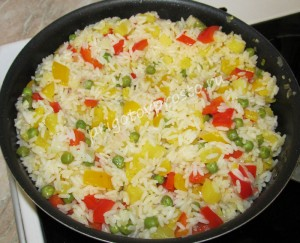 рис с ананасами рецепт