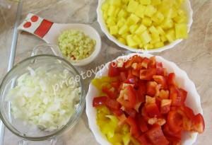 рис с ананасами