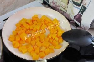 салат с адыгейским сыром и тыквой