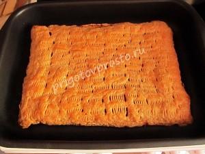 слоеный пирог с тыквой рецепт