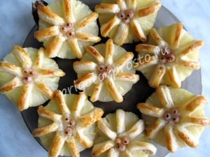 десерт из ананасов
