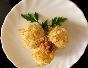 закуска шарики сырные