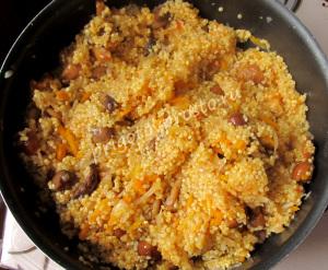 начинка для вегетарианского фаршированного перца
