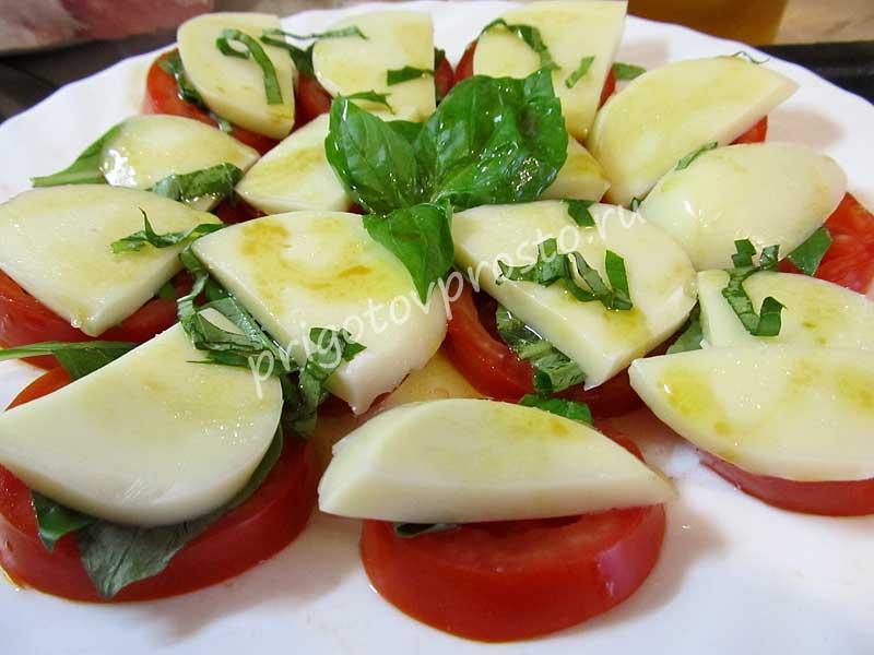 "Как приготовить салат ""Капрезе"""