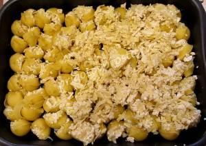 фаршированные макароны ракушки в духовке