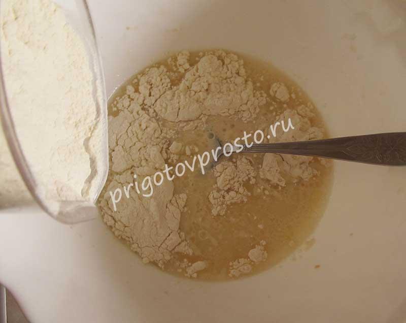 тесто для аджарских хачапури