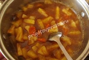 вкусный пирог с консервированными ананасами