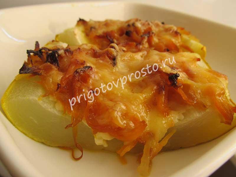 баклажаны с адыгейским сыром в духовке