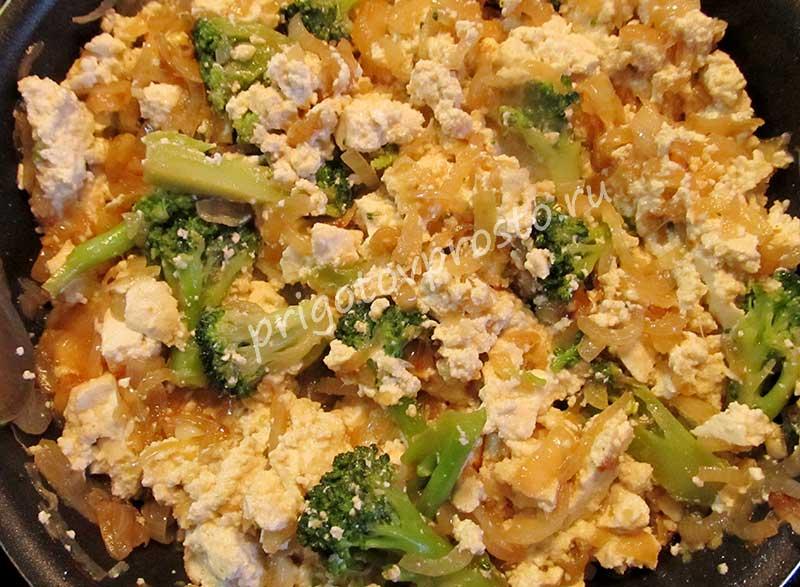 Рецепт гарнир из цветной капусты или брокколи