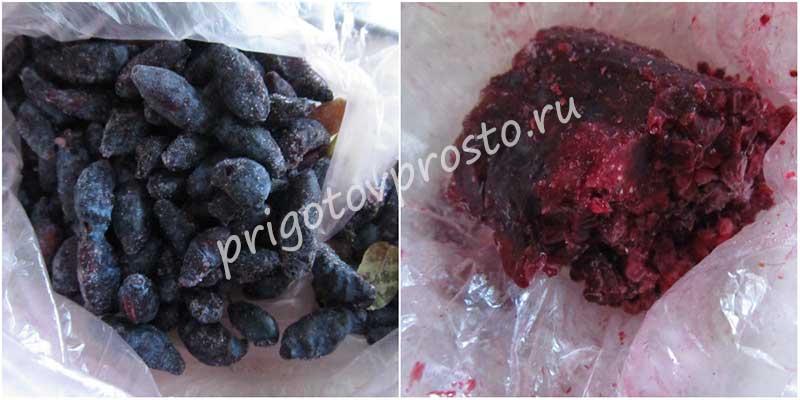 ягоды для постной манной каши