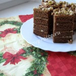 новогодний домашний торт