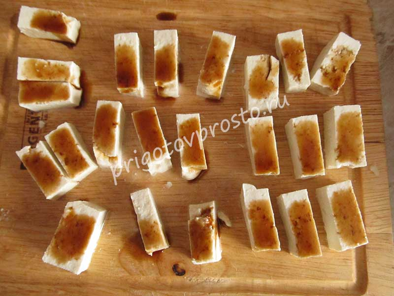 как готовить тофу жареный