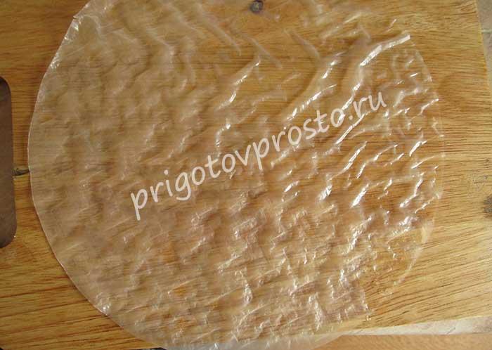 роллы из рисовой бумаги