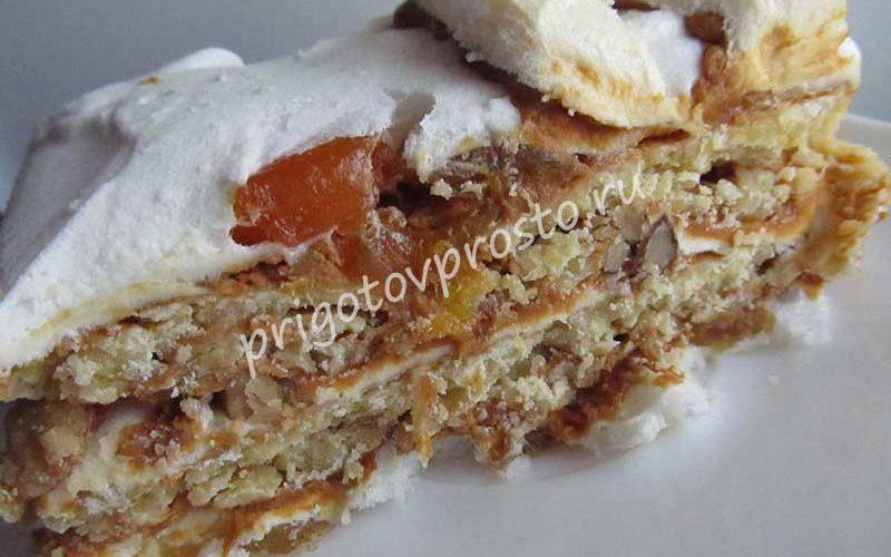 торт королевский с безе