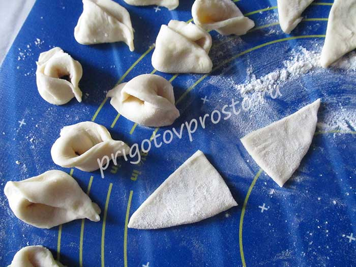 вкусные галушки с грибами