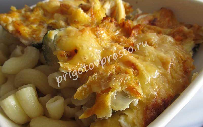 кабачки по-венски с сыром